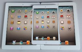 iPad miniとiPad