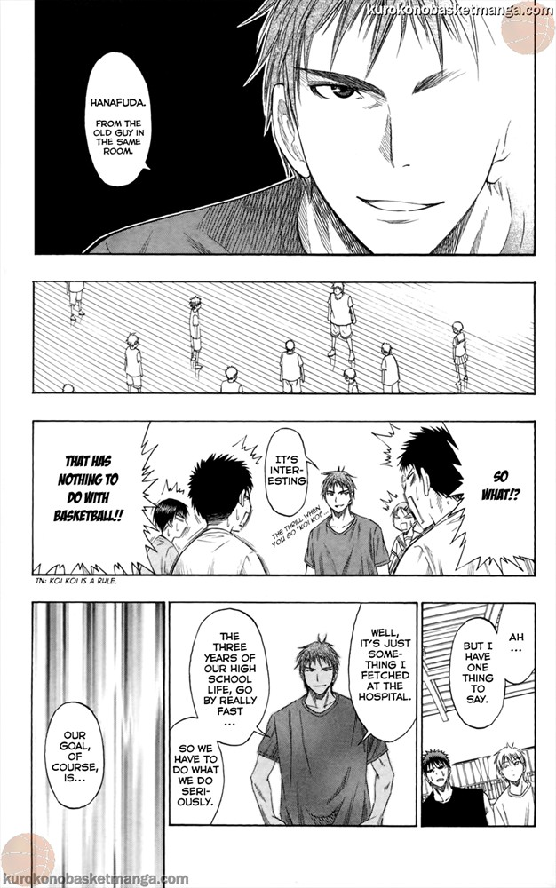 Kuroko no Basket Manga Chapter 54 - Image 13