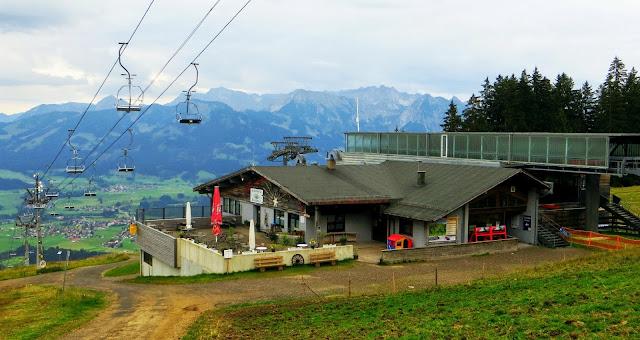 Bergstation Hörnerbahn Bolsterlang Allgäu