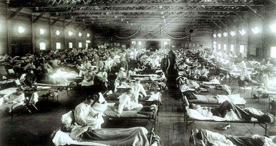 πανδημία γρίπης 1918-1919.