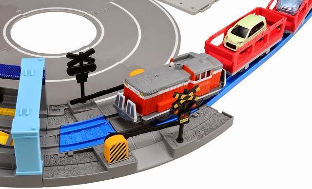 Chắn tàu hỏa đoạn đường cong giao nhau với đường bộ