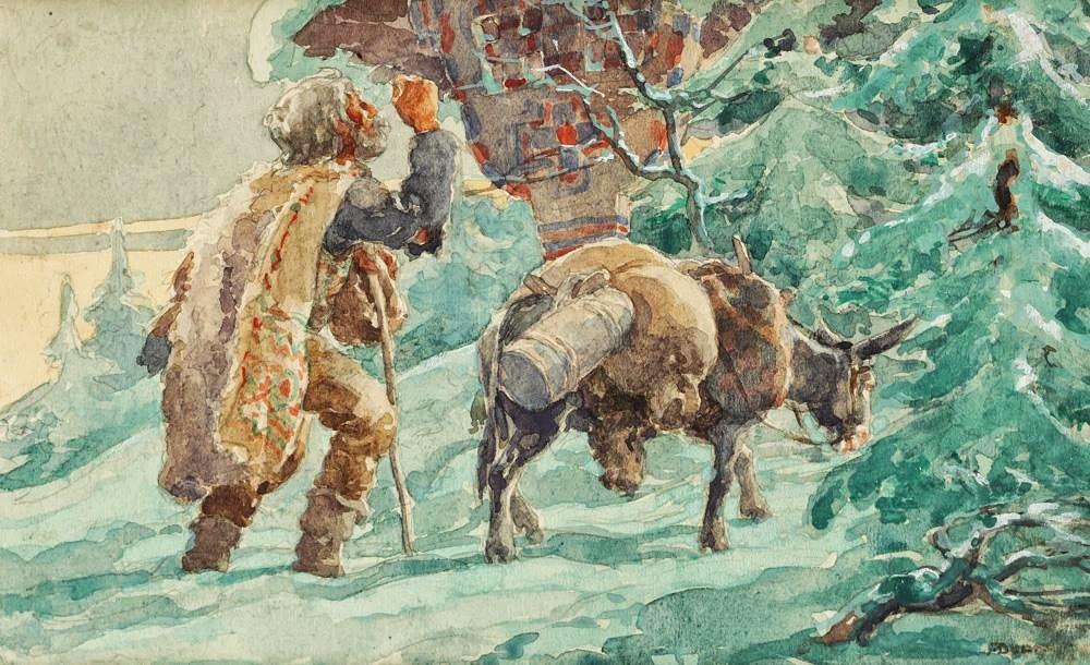 Ignat Bednarik - Călători în faţa troiţei