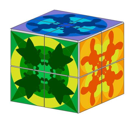 Kids Goo Japan Puzzle Cube Papercraft
