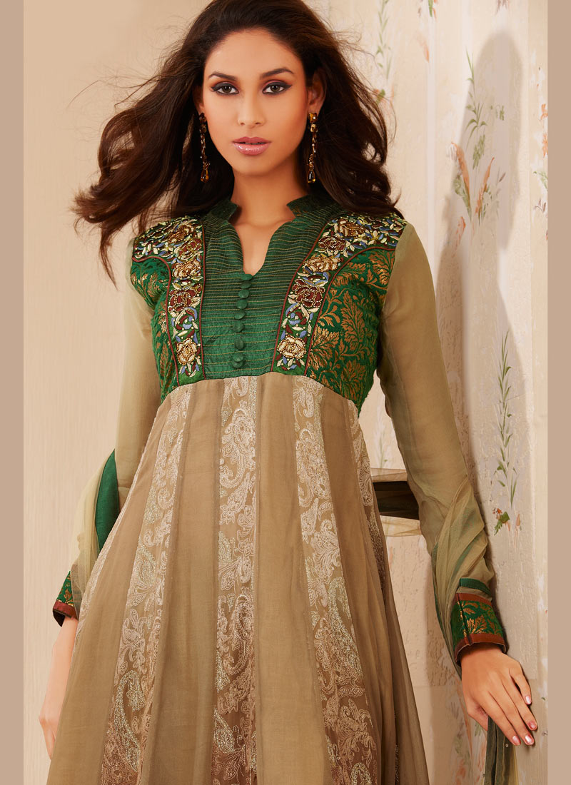 New Anarkali Dress Designs