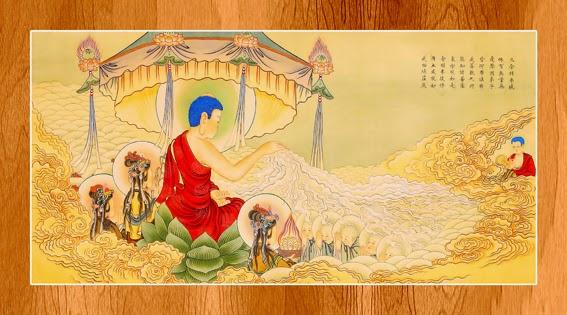 Bộ ảnh đẹp minh họa bản Kinh A Di Đà 11