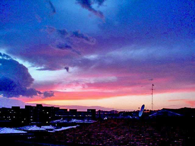 Il cielo dal mio balcone
