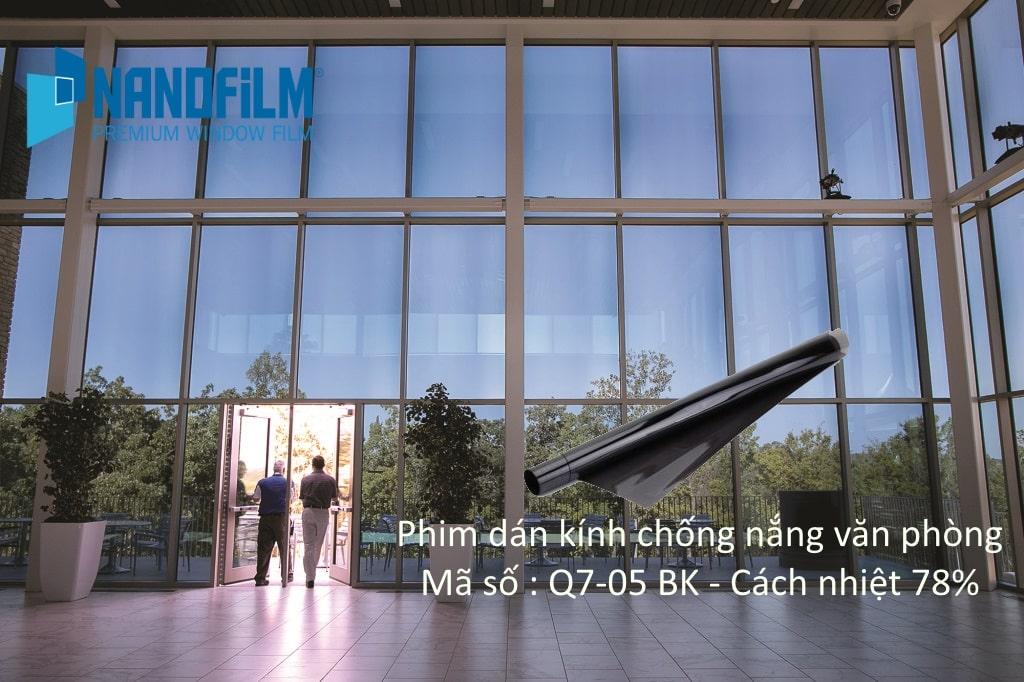 Hướng dẫn lựa chọn phim dán kính chống nắng nóng cho văn phòng