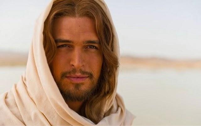 Jesus at Getsemani.