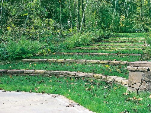 escada jardins mangueiral : Crie Jardim: Id?ias para jardins - escadas