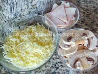 Pizza Capriciosa blat preparare