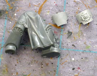 Custode conversion Grey Knight legs