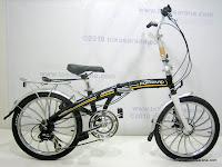 1 Sepeda Lipat FORWARD HIGH WIND 20 Inci