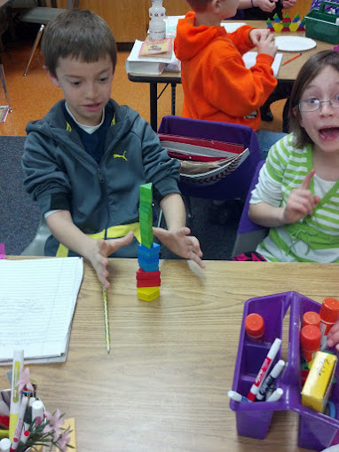 Fourth grade Lesson Pattern Blocks to Investigate Fractions