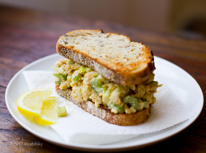 Tuna Fish-Free Sandwich