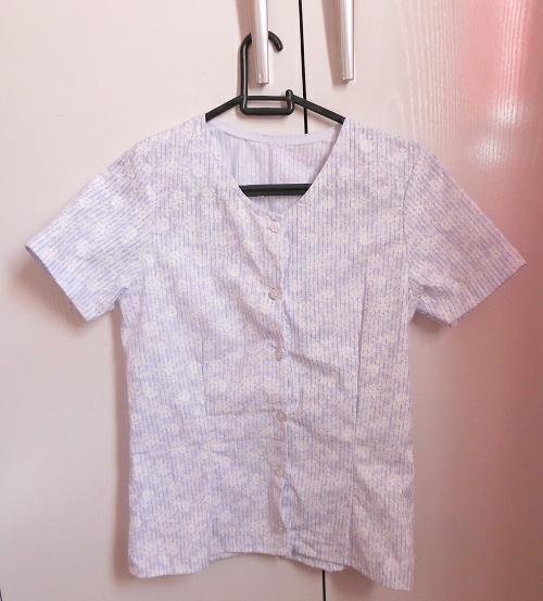 Costureira aprendiz - blusa de manga