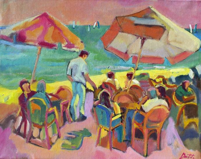 José Bautista,Pintor,Pinturas,Pintura de José Bautista,Helado de chocolate caliente