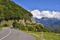 Дорога в Верхнюю Сванетию