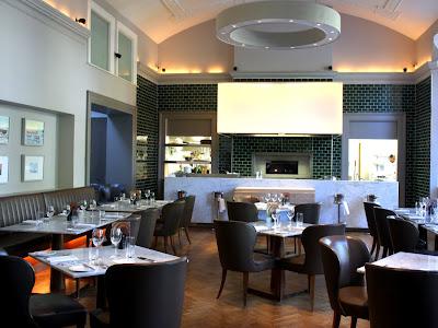 Restaurant at the Montpellier Chapter Hotel in Cheltenham
