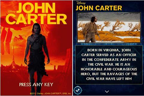 John Carter [By Disney Mobile/Indiagames] John1