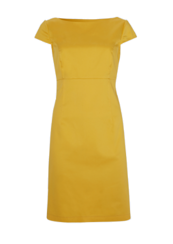 George at ASDA Yellow Shift Dress