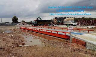 Hình ảnh trạm cân xe tải hoàng thiên Tại Đà Nẵng