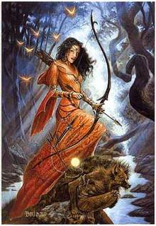 Roman Goddess Diana Image