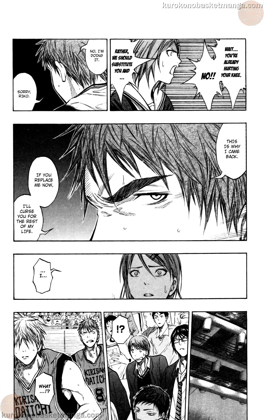 Kuroko no Basket Manga Chapter 102 - Image 08