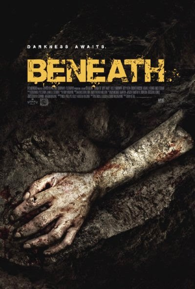Poster Of English Movie Beneath (2013) Free Download Full New Hollywood Movie Watch Online At Alldownloads4u.Com
