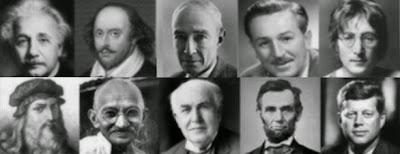 Biografias de personagens históricos e personalidades
