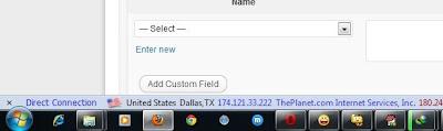 Show Firefox Status Bar