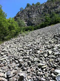 Les 2 Alpes - Pierrier près cascade de la Pisse