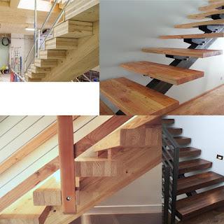Ghép mặt bậc cầu thang