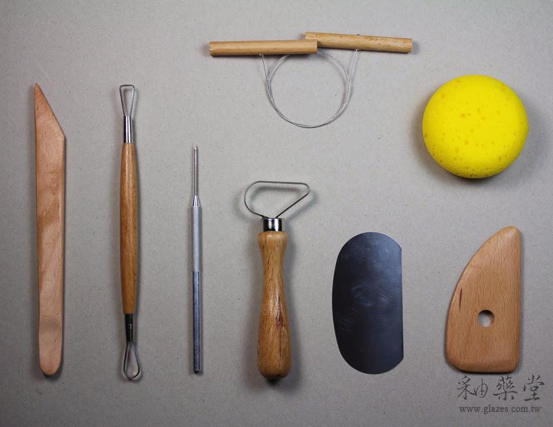 陶藝工具-八件式拉坯工具組台灣製