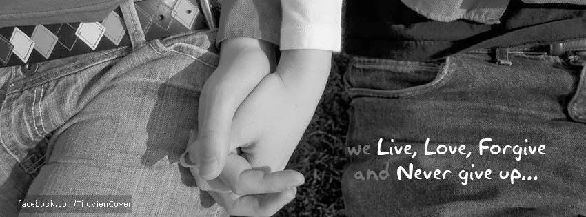 Ảnh bìa nắm tay nhau trong tình yêu