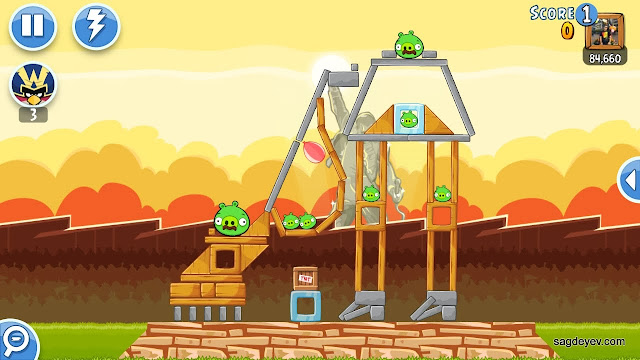 Angry Birds Friends: Freddie For A Day Level 3 - I Want to Break Free