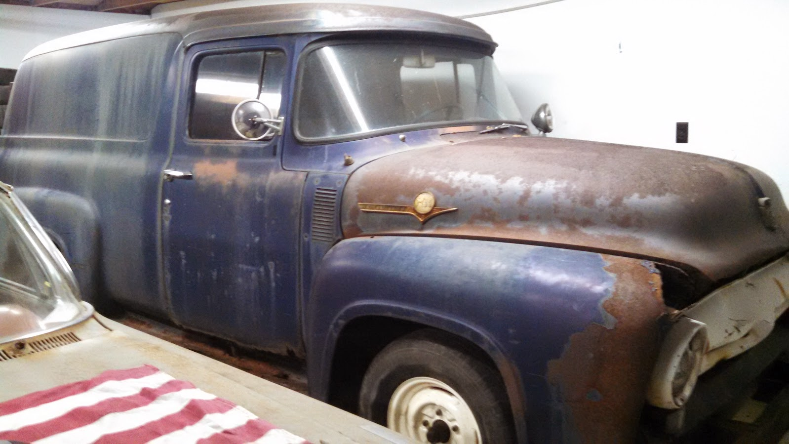 Picking This Up Saturday Ford Truck Enthusiasts Forums 1955 F100 Panel