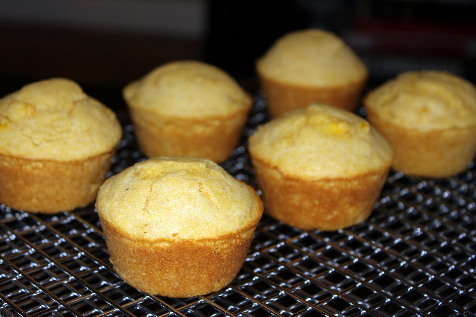 Domestic Deep Thought: TWD: Corniest Corn Muffins