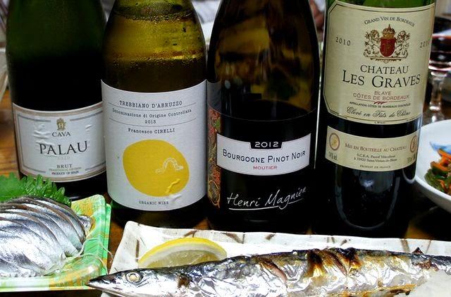 サンマと合う赤ワインやスパークリング