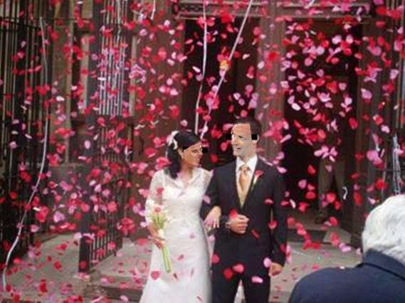 Confeti bodas.
