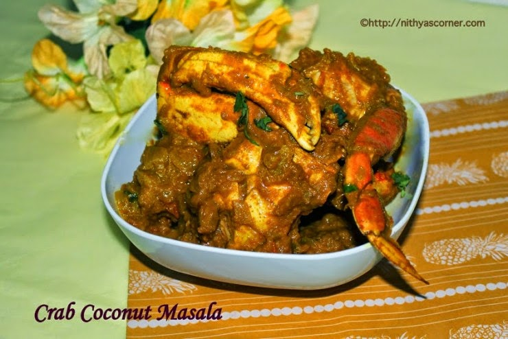 Crab Coconut Masala