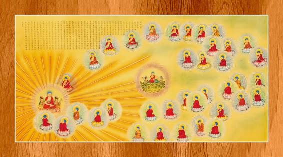 Bộ ảnh đẹp minh họa bản Kinh A Di Đà 14