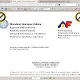 Document al Administraţiei Finanţelor Publice a municipiului Câmpulung Moldovenesc creat cu un soft gratuit