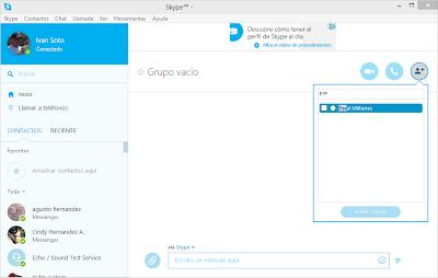 Grupos mejorados con filtro para añadir contactos