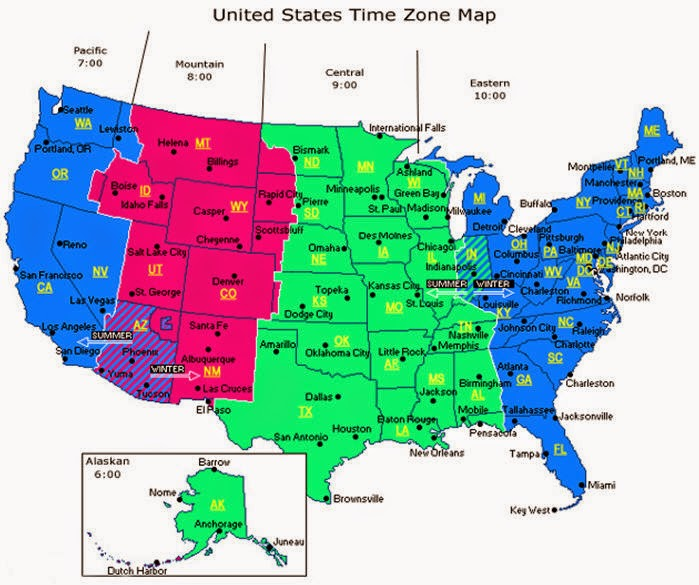 Mobile Alabama Time Zone Map Missouri Map - Missouri on the map of usa