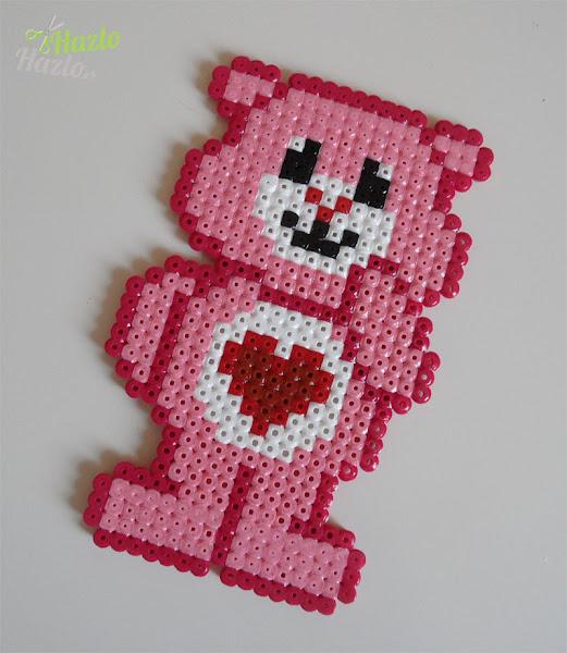 Oso amoroso hama beads