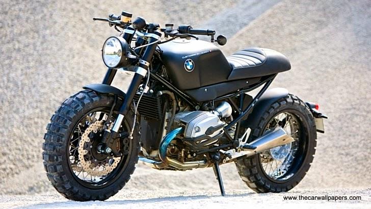 BMW R1200R Scrambler by Lazareth Slide