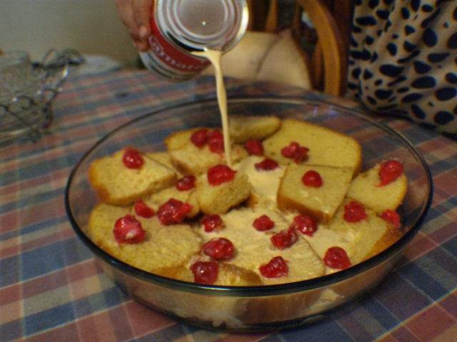 maria homemade cake resepi puding kekatroti   mudah Resepi Kek Buah Pic Enak dan Mudah