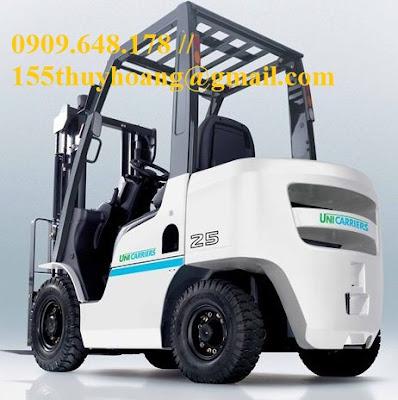 Xe nâng hàng 1.5 - 3.5 tấn Unicarriers Nhật Bản