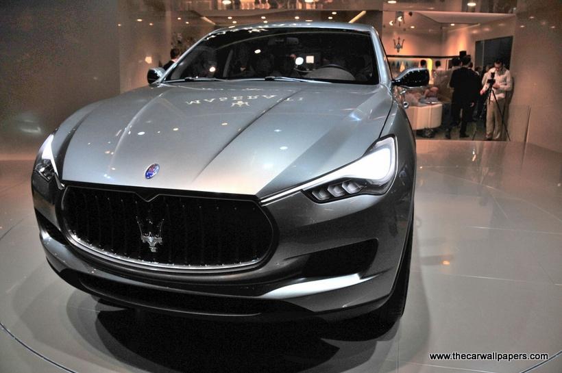 Fiat to build Maserati SUV