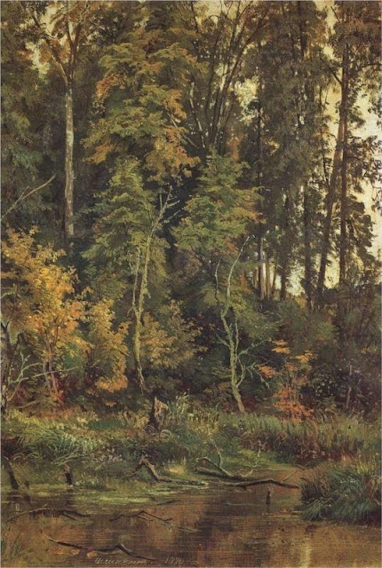 Ivan Shishkin - Go to the autumn